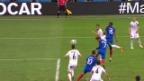 Video «Zusammenfassung Frankreich-Albanien» abspielen