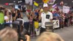 Video «Goldener Transport: Schurter und Ruderer sind zurück» abspielen