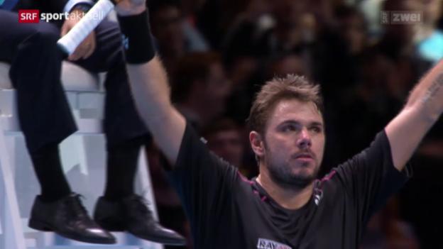 Video «Tennis: Murray - Wawrinka» abspielen