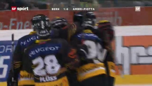 Eishockey: SC Bern-Ambri