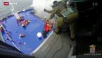 Video «Chaos auf Unglücksfähre» abspielen