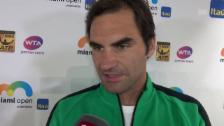 Link öffnet eine Lightbox. Video Federers Ausblick auf Berdych: «Jetzt kommt ein Powerspieler» abspielen