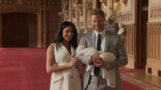 Baby Sussex Harry Und Meghans Sohn Heisst Archie News Srf