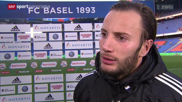Video «Fussball: Stimmen zu Basel - Aarau» abspielen