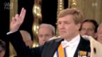Video «Aktuell: Amtseinführung Willem-Alexander» abspielen