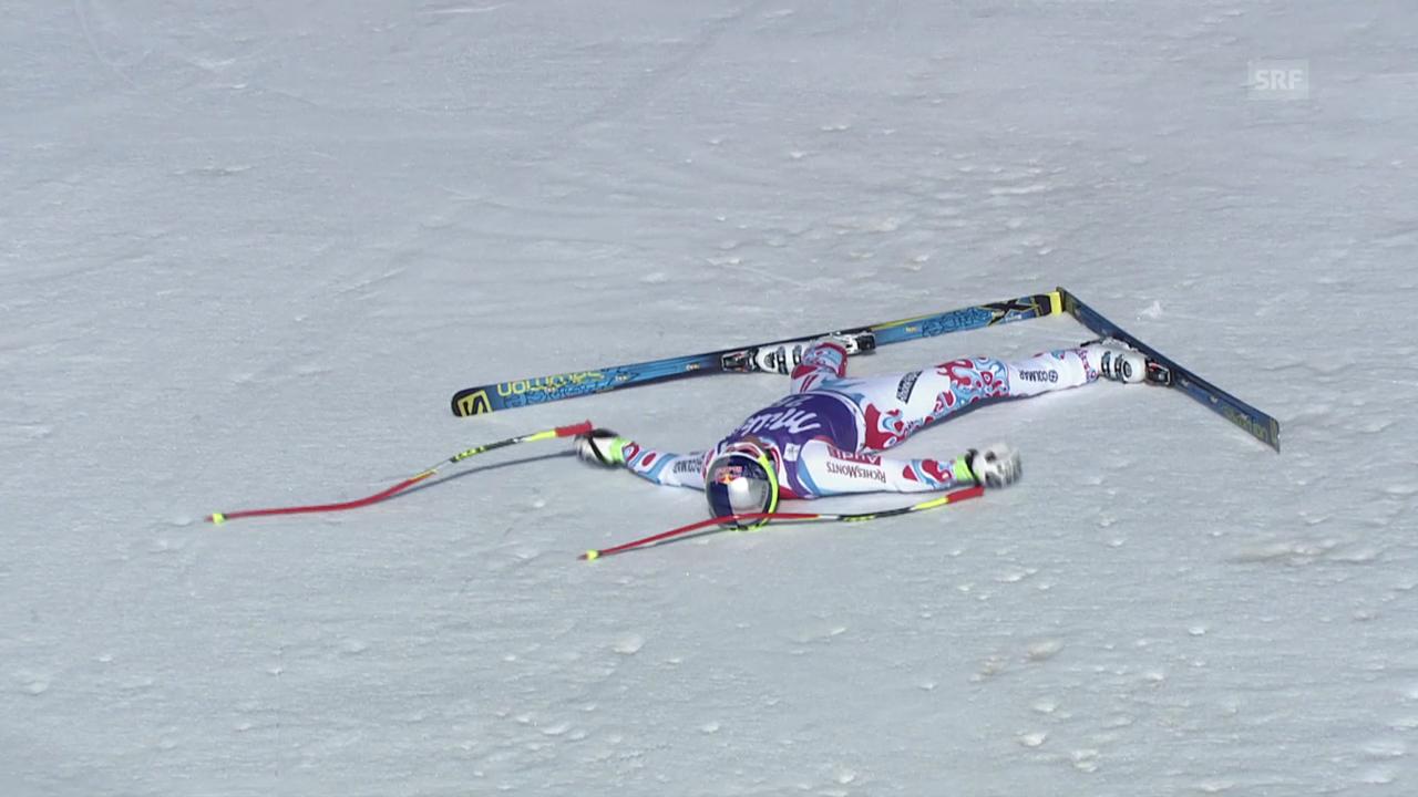 Ski Alpin: Super-G Männer auf der Lenzerheide, Die Fahrt von Alexis Pinturault («sportlive», 13.3.2014)