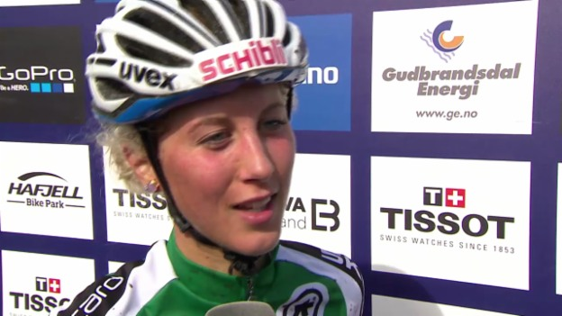 Video «Mountainbike-WM: Interview Jolanda Neff» abspielen