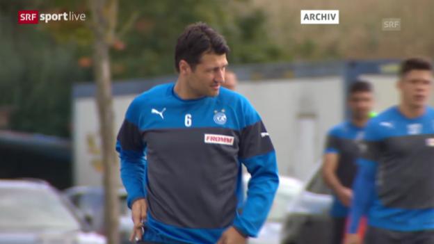 Video «Fussball: Suspendierung von Salatic aufgehoben» abspielen