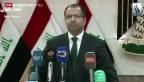 Video «Rückschlag bei Regierungsbildung im Irak» abspielen