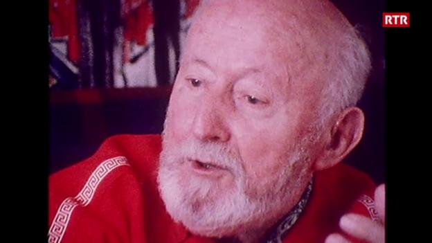 Laschar ir video «Svizra Rumantscha (15.09.1982): Discurs cun Alois Carigiet»