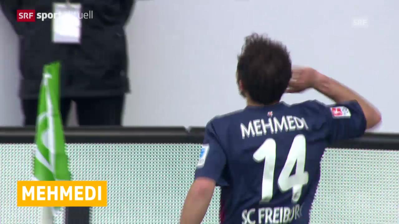 Mehmedi trifft, Barnetta verletzt («sportaktuell»)