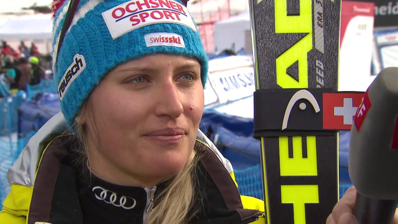 Ski Alpin: Slalom Lenzerheide, Interview Feierabend («sportlive», 15.03.2014)