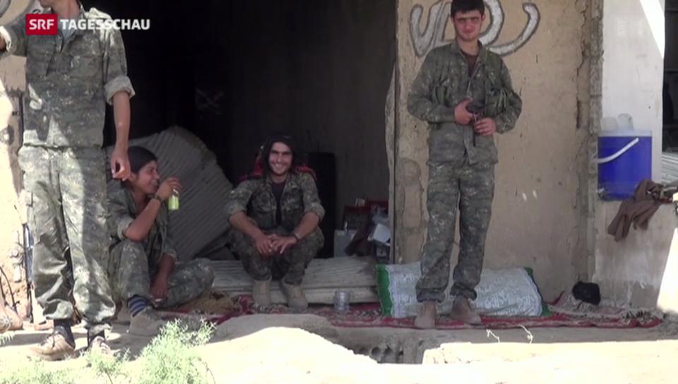 Kurden kämpfen aktiv gegen den IS