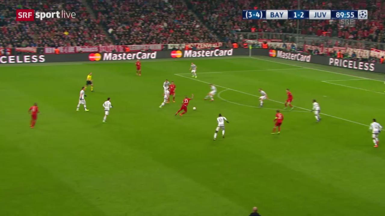 Müller erzielt den 2:2-Ausgleich