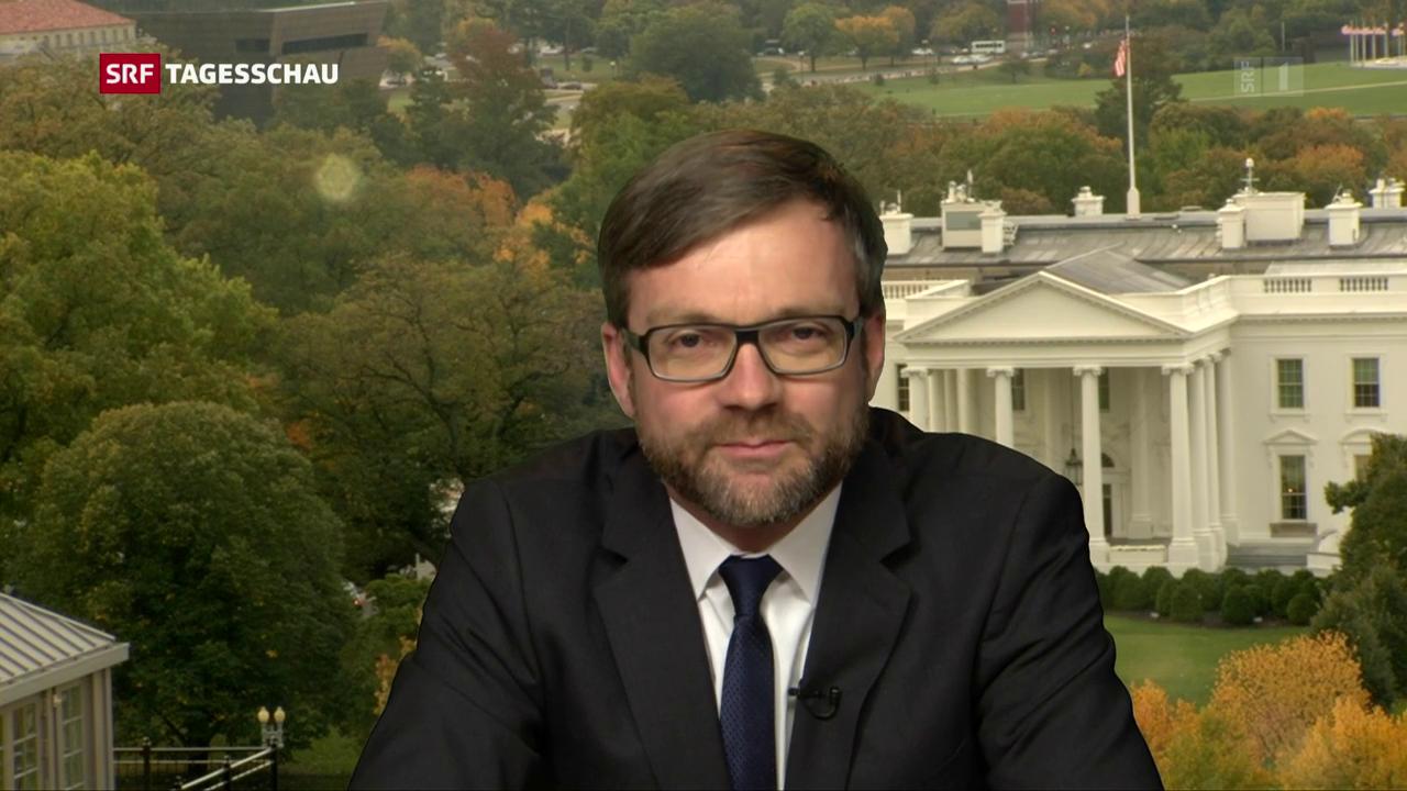 Einschätzungen von USA-Korrespondent Peter Düggeli