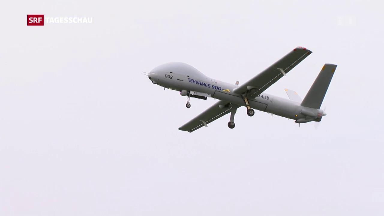 Drohnen-Tests über besetzten Golanhöhen