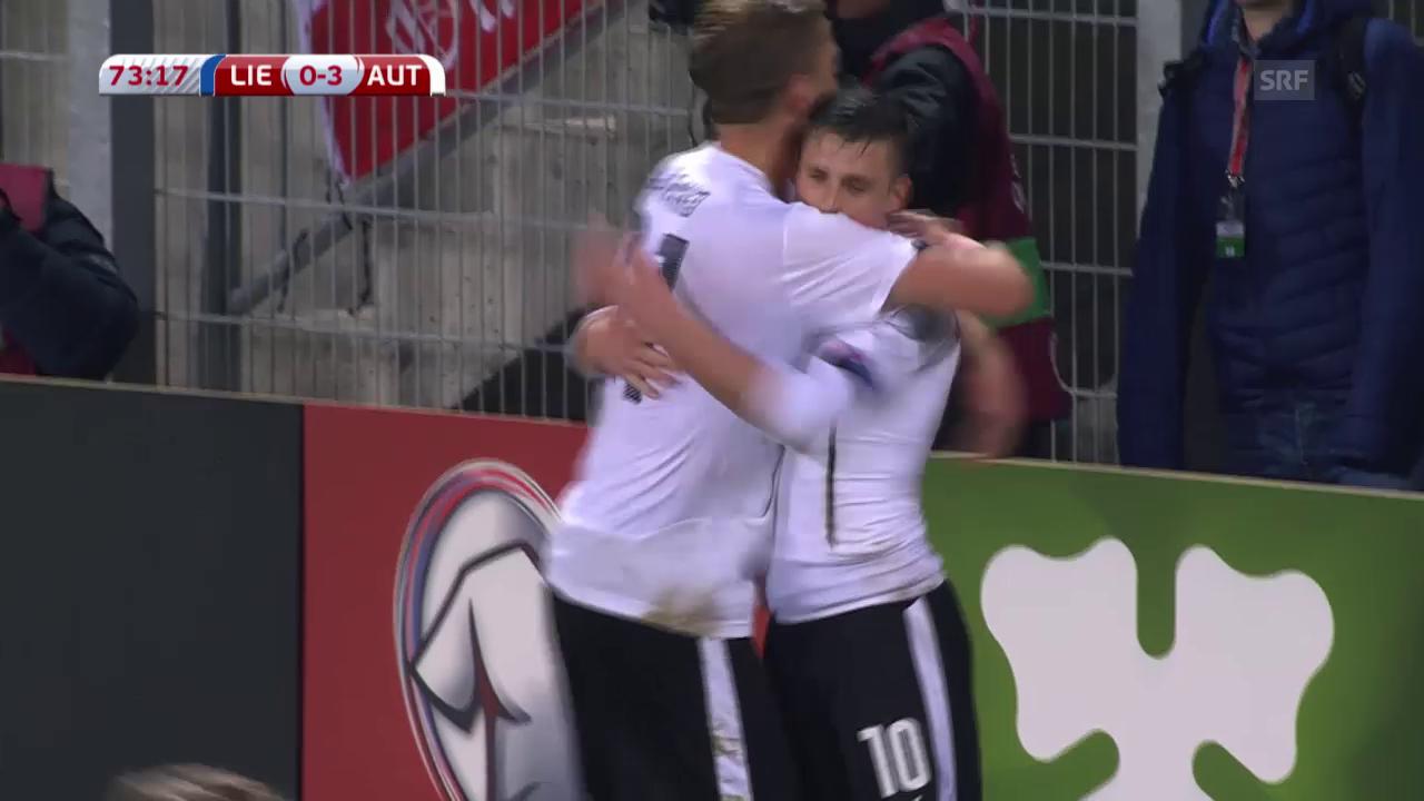 Fussball: EURO 2016, Qualifikation, Österreich - Liechtenstein