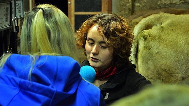 Zu-Sennerin Anna Herz über ihre Arbeit auf der Alp