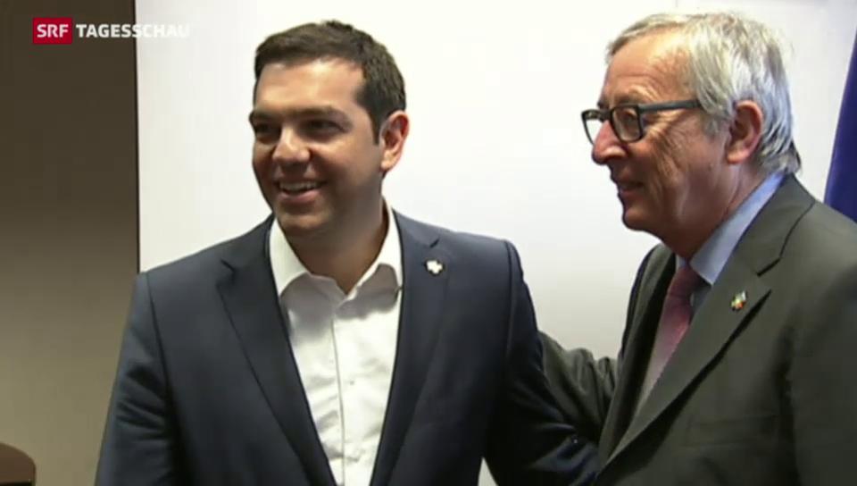 Juncker spricht wieder mit Tsipras
