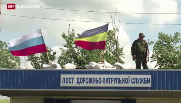 Video «Putin will Verlängerung der Feuerpause in der Ukraine» abspielen