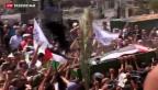 Video «Gewalt zwischen Israeli und Palästinensern hält an» abspielen