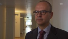 Video «Eric Scheidegger zum Schweizer Wirtschaftswachstum» abspielen
