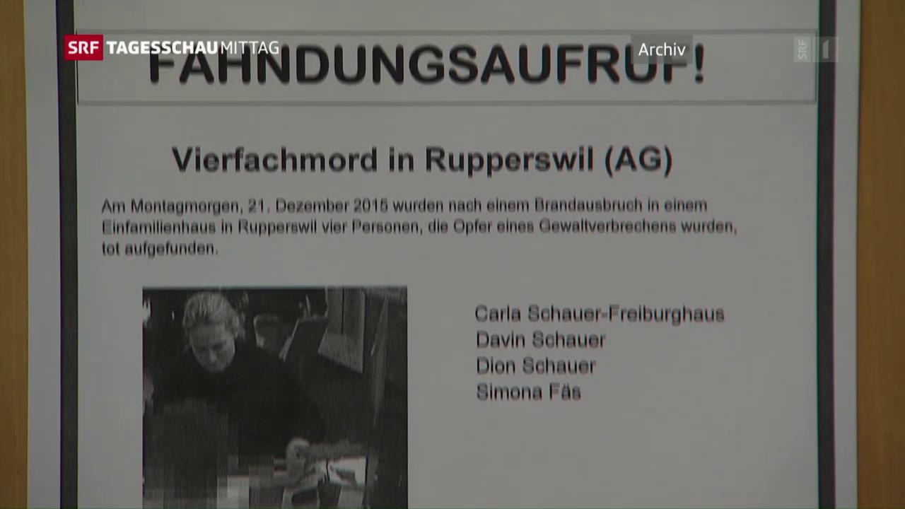 Kurzübersicht: Vierfachmord von Rupperswil