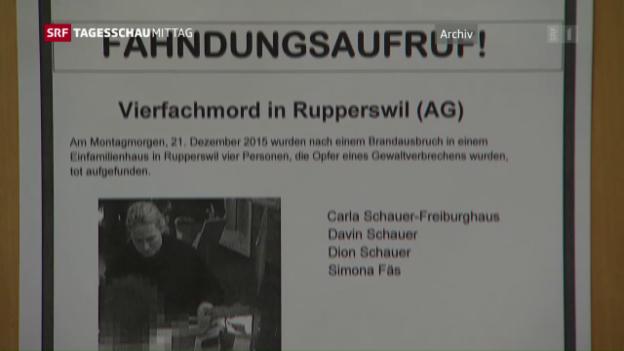 Video «Kurzübersicht: Vierfachmord von Rupperswil» abspielen