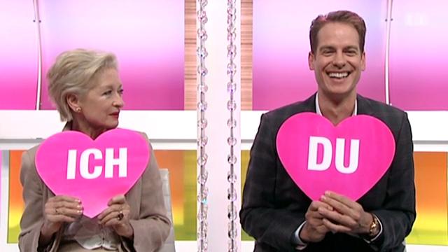 Heidi Maria Glössner und Volker Wall