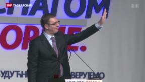 Video «Serbien wählt – in Sachen «EU»» abspielen