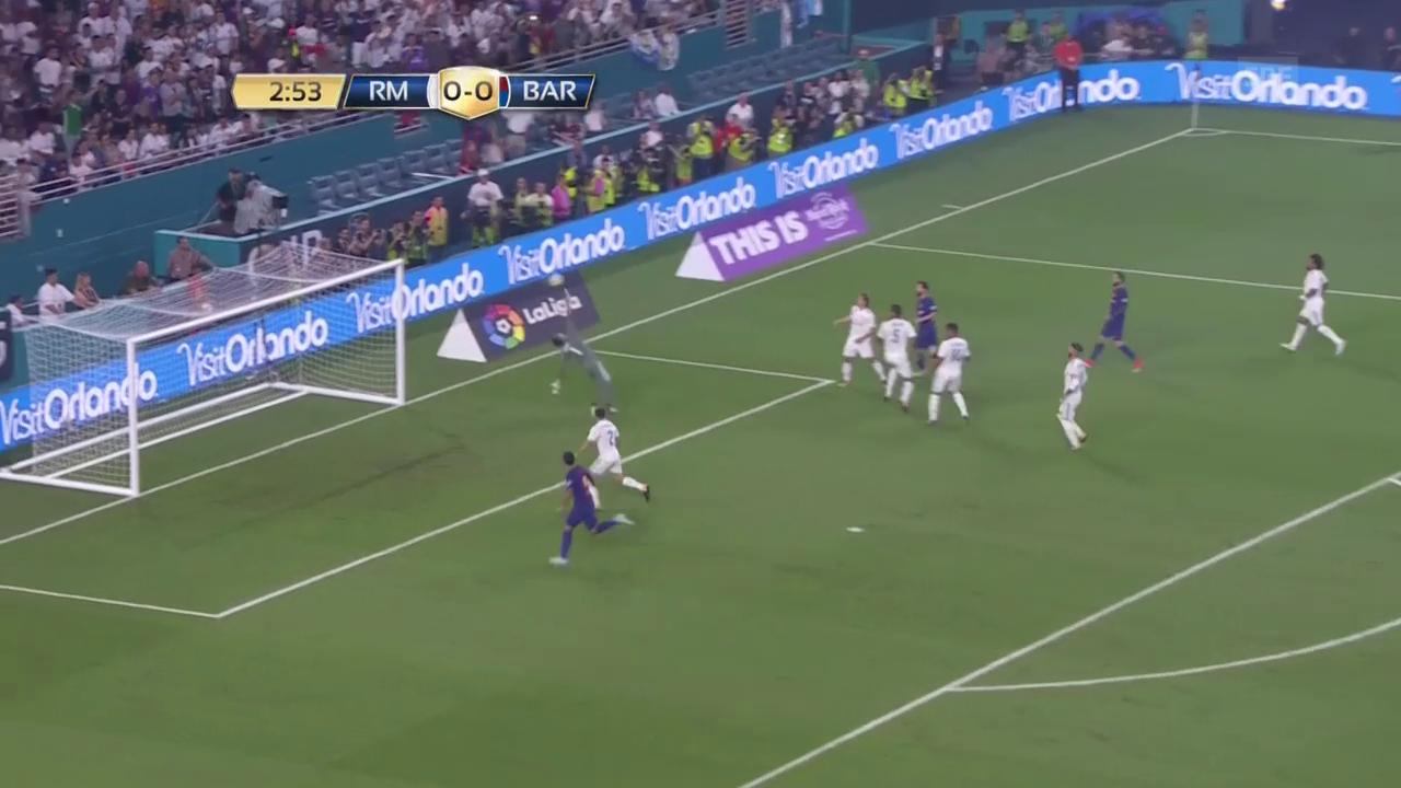 Sieg für Barcelona im Exil-Test-Clasico