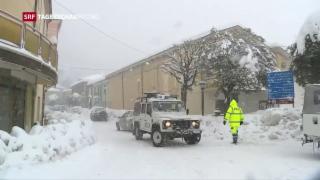 Video «Kältewelle hat Europa fest im Griff» abspielen