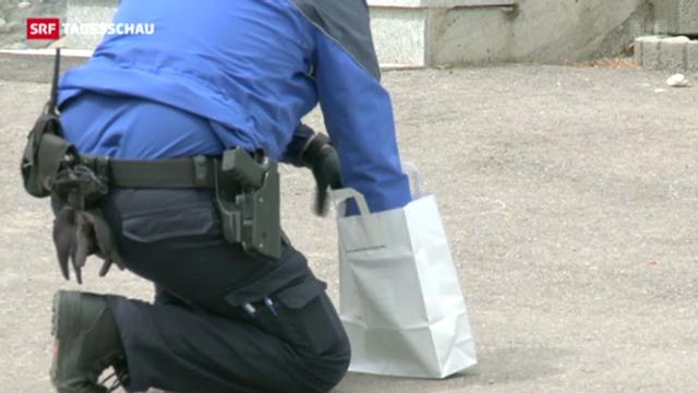 Gewaltverbrechen in Frasses (FR)