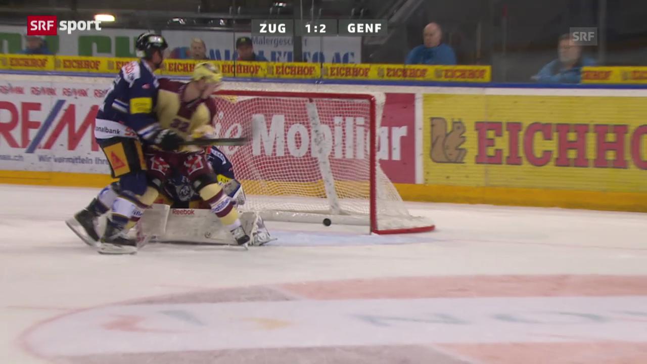 Eishockey: Zug - Genf