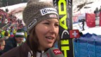 Video «Ski Alpin: Slalom Lenzerheide, Interview Holdener («sportlive», 15.03.2014)» abspielen