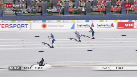 Il quartfinal cun Laurien van der Graaff