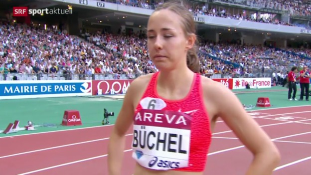 Video «Leichtathletik: Diamond-League-Meeting in Paris» abspielen