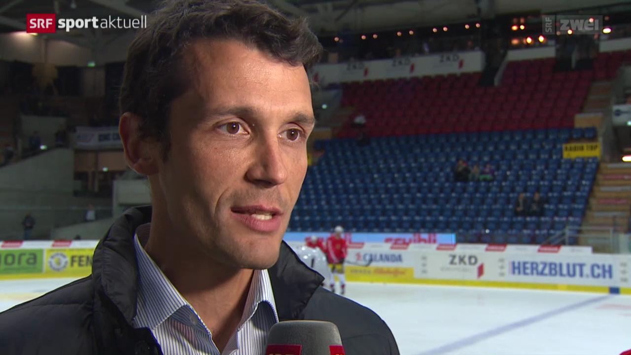 Eishockey: NLA, Marco Streit temporärer EHCB-Assistenzcoach