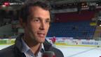 Video «Eishockey: NLA, Marco Streit temporärer EHCB-Assistenzcoach» abspielen