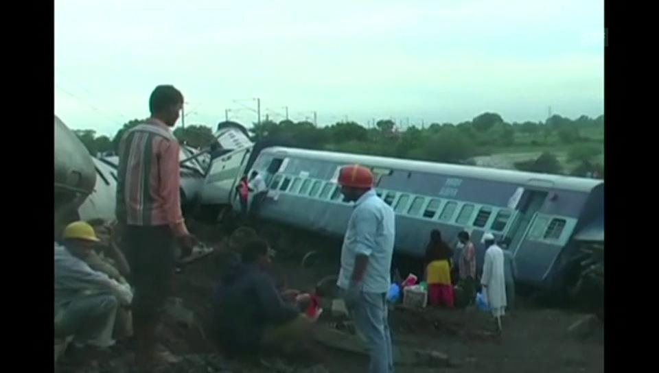 Zugunglück in Indien (unkommentiert)