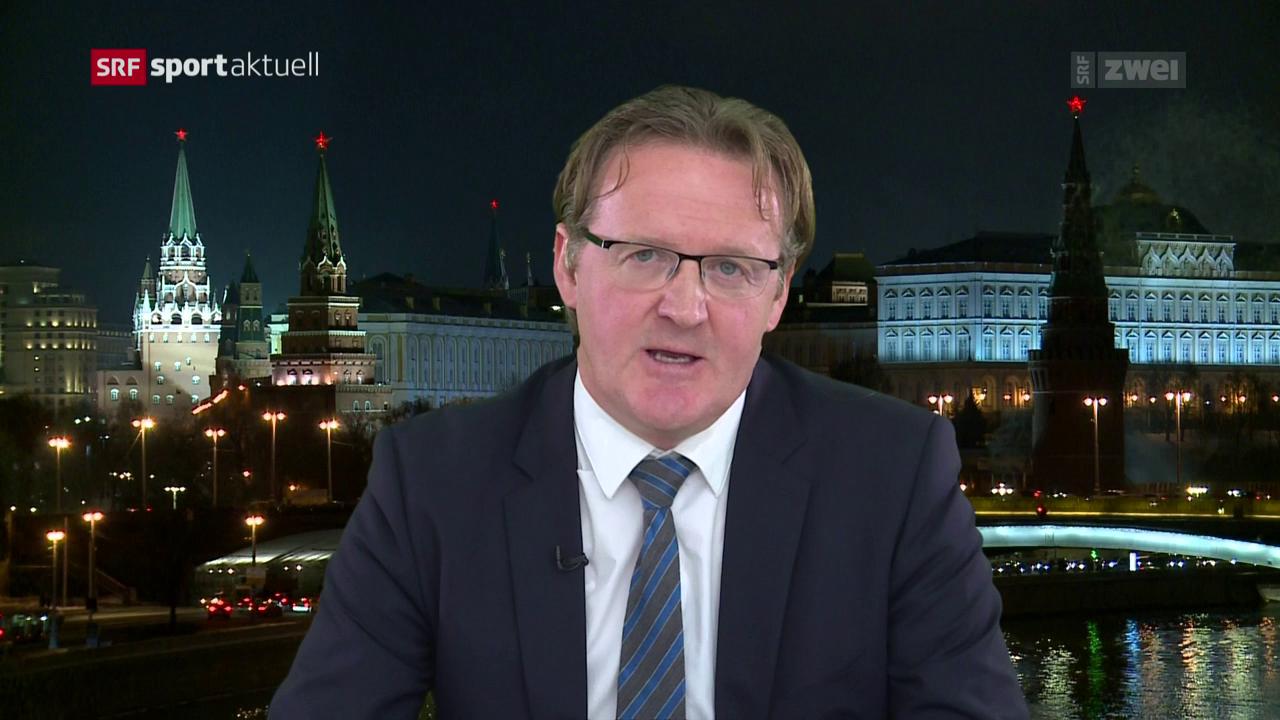 Einschätzung von Russland-Korrespondent Christof Franzen