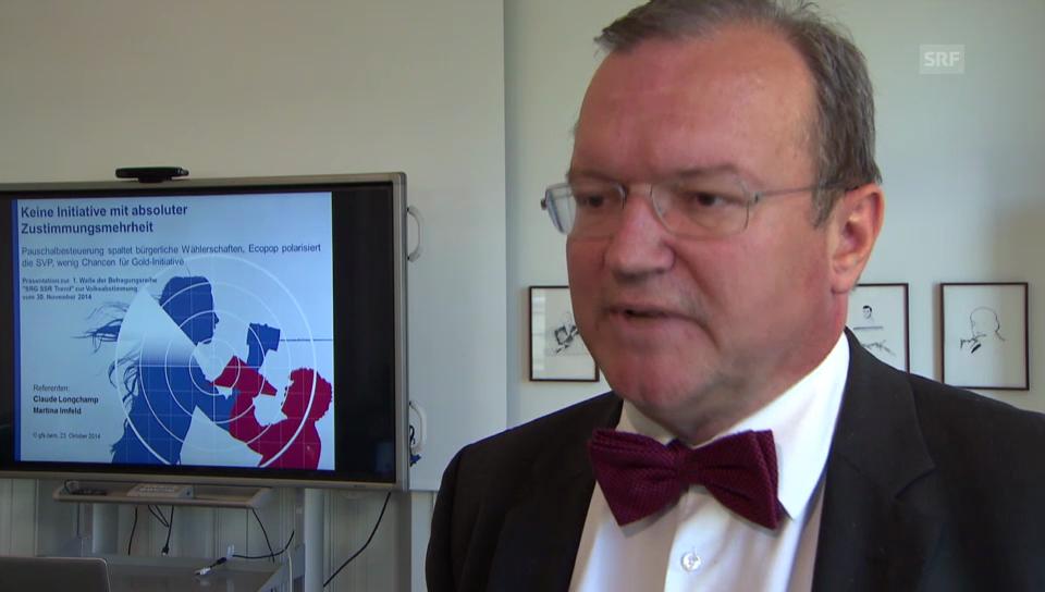 Studienleiter Longchamp: «Parteipolitisch Ungebundene sind entscheidend.»