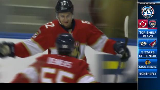 Video «Malgin trifft auch gegen New Jersey» abspielen