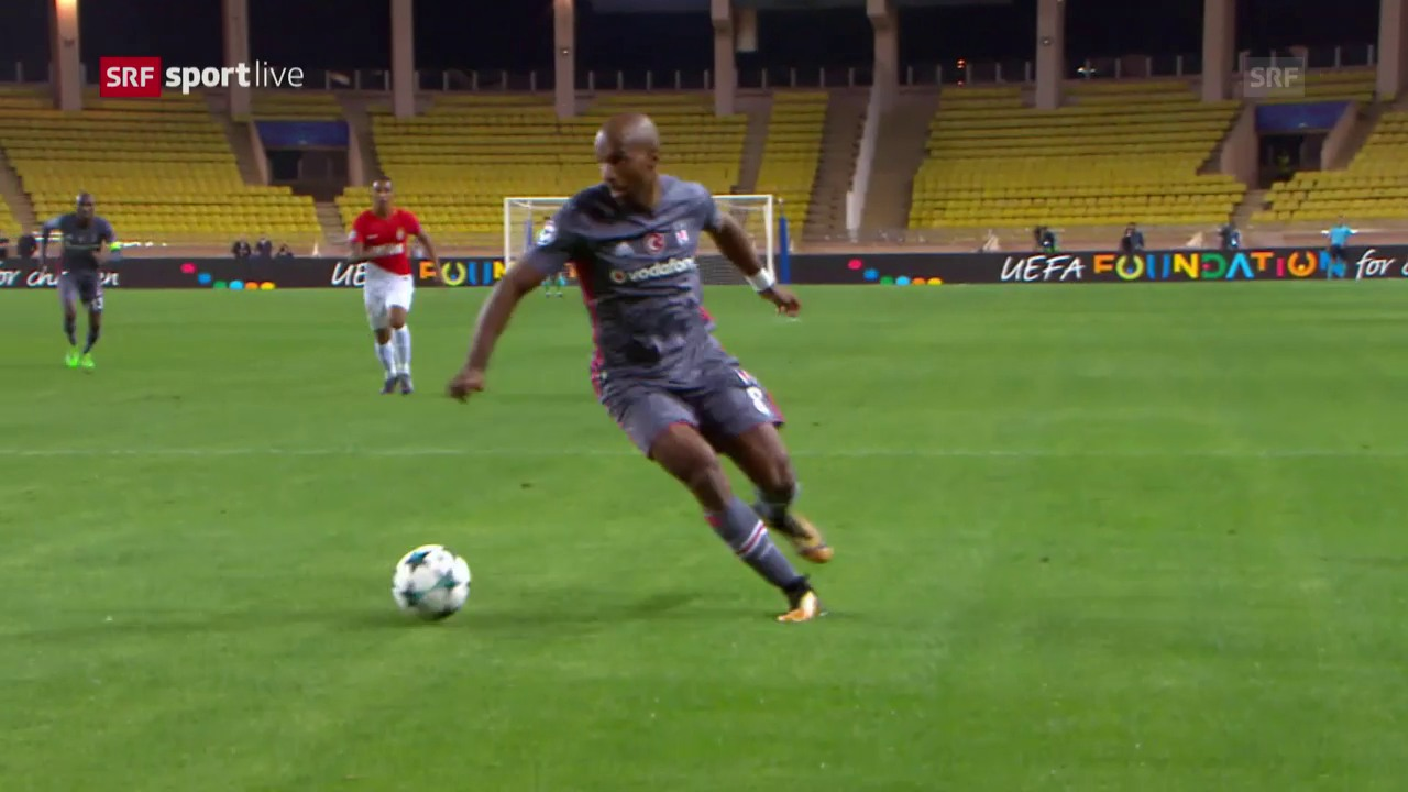 Besiktas besiegt auch Monaco