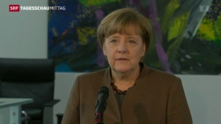 Video «Merkel bedankt sich bei Polizei» abspielen