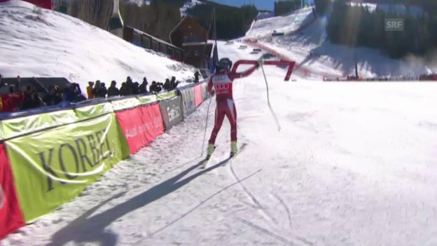 Video «Ski Alpin: Svindals Siegesfahrt in Beaver Creek» abspielen