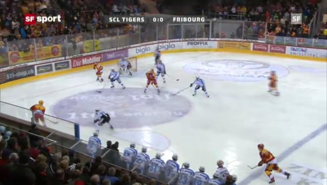 NLA: SCL Tigers - Fribourg («sportaktuell»)