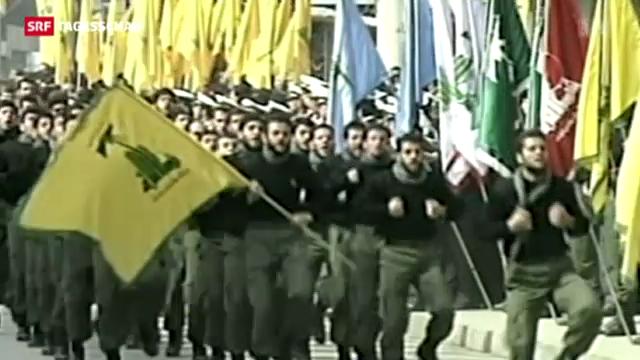 EU behandelt Hisbollah als Terrororganisation