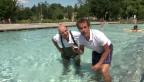 Video «Comedy-Duo Oropax in der Berner Badi «Marzili»» abspielen