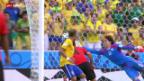 Video «Fussball: Spielbericht Brasilien - Mexiko» abspielen